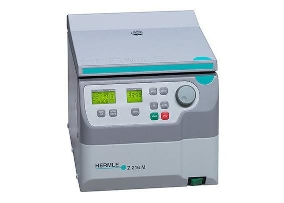 Máy ly tâm lắng mẫu nhanh Microlitre Hermle Z 216M 15000 RPM
